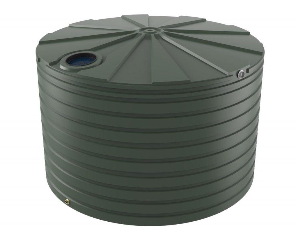 25000 LT Bushmans Round Rain Water Tank