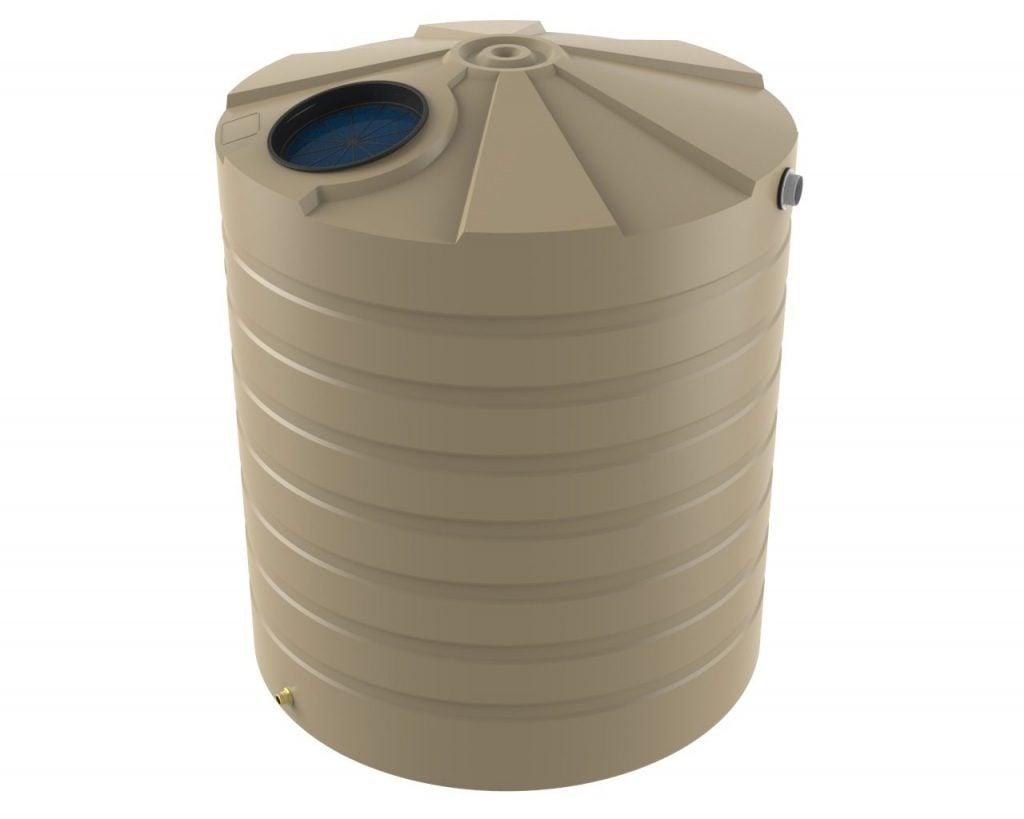 5000 LT Bushmans Round Rain Water Tank