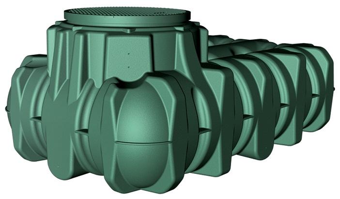 GRAF 1500 LT LiLo Underground Tank