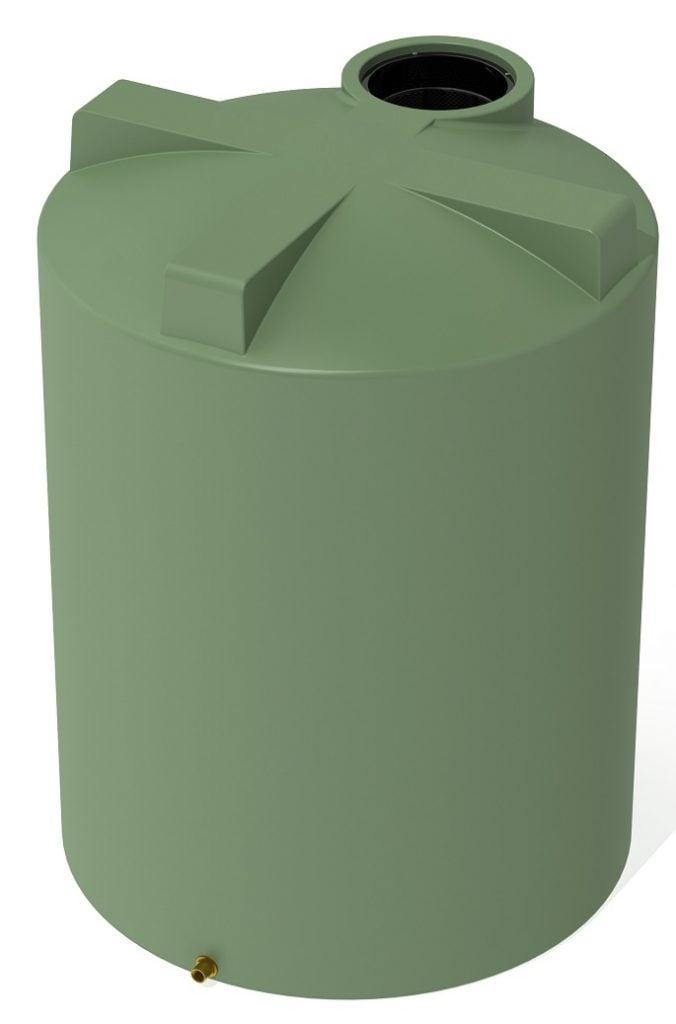 2000 LT Pro Plastics Squat Rain Water Tank