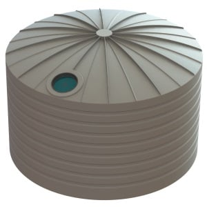 22500 LT Bushmans Poleless Round Rain Water Tank