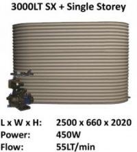 3000 sx single