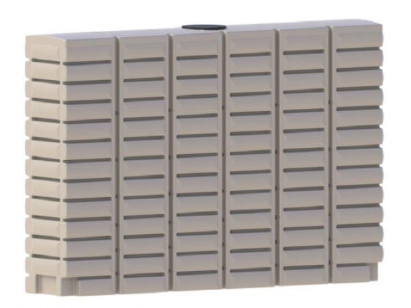 slimline rainwater tanks - 3000 LT