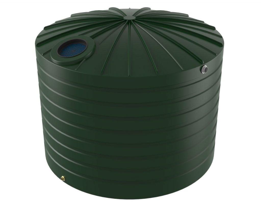 15000 LT Bushmans Poleless Round Rain Water Tank