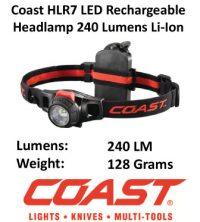 Rechargeable LED Headlamp - Coast