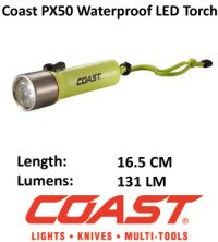 Waterproof Diving LED Torch - Coast