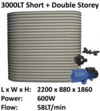 colorbond 3000 short ferro