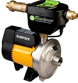 rainwater tank pump - Davey Rainbank KRB1 with HP45-05 Mains Switch