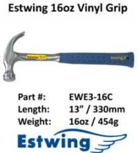 Estwing Hammer Leather - 16oz