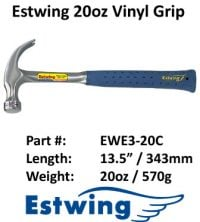Estwing Hammer Leather 20oz
