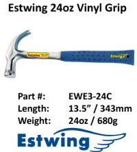 Estwing Hammer Leather 24oz