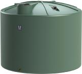10000 LT Urban Poly Round Rain Water Tank