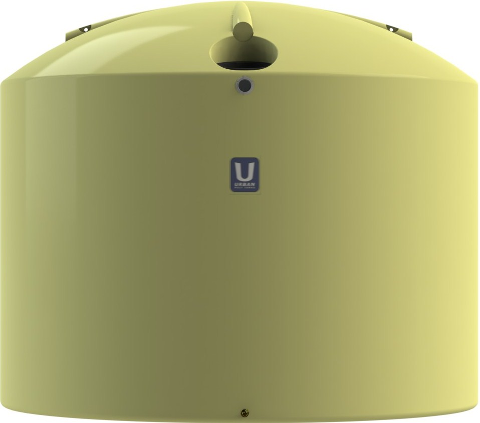 22700 LT Urban Poly Round Rain Water Tank