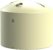 26000 LT Urban Poly Round Rain Water Tank