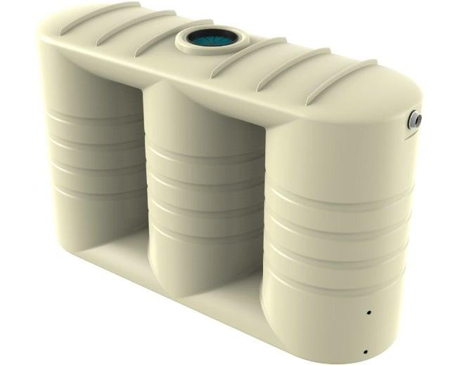 5000 LT Bushmans Slimline Rain Water Tank