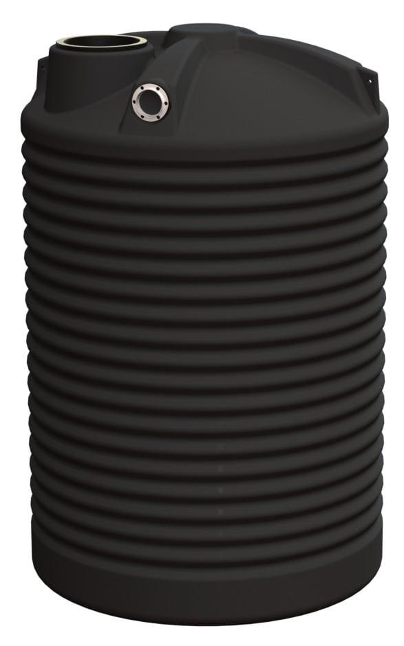 2500 LT Rotoplas Round Water Tank